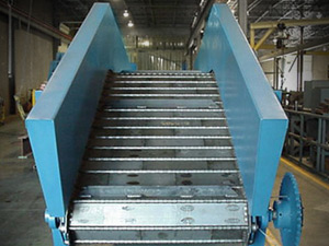 Conveyors Piano Hinge Steel Belt